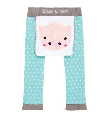 Meia calça lã Blade and Rose porquinha personalizado com nome