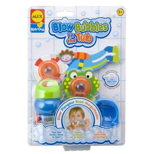 Solta Bolhas Mergulhador brinquedo de banho Alex Toys