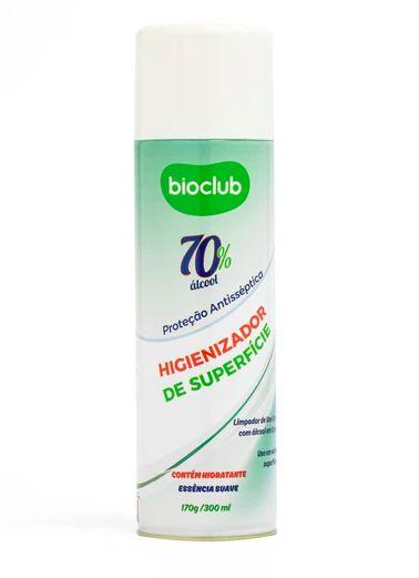 Higienizador antisseptico para superficies e tecidos Bioclub