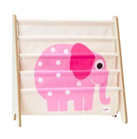 Rack para Livros 3 Sprouts Elefante