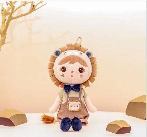 Boneca Metoo Jimbao Leão personalizado com nome