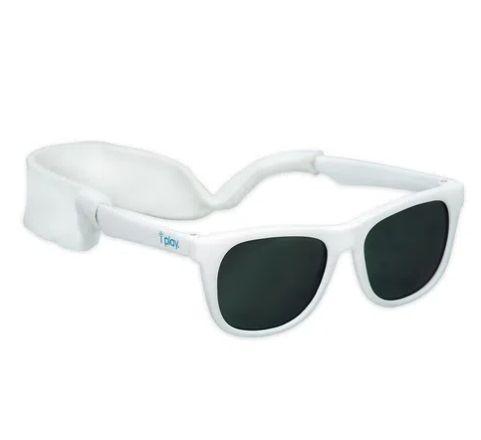 Óculos de Sol Iplay Branco com hastes flexiveis