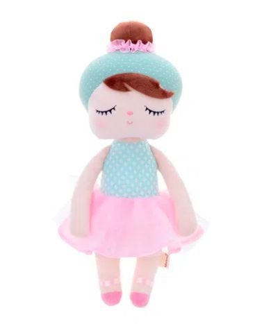 Boneca MeToo bailarina Lai Ballet 44cm Personalizada com nome