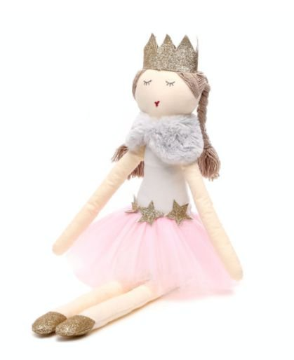 Boneca de Pano Princess Sophy Sam and Peas