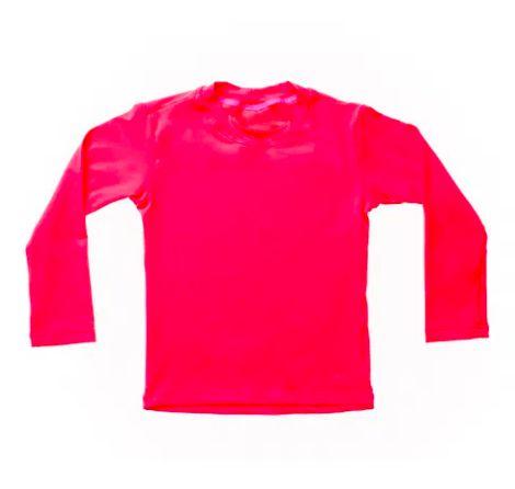 Camiseta de banho Pink com UV 50+ Bupbaby