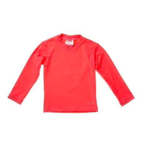 Camiseta de banho Coral com UV 50+ Bupbaby