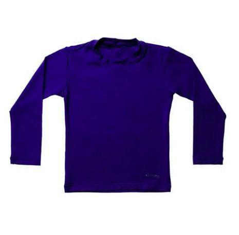 Camiseta de banho Azul Marinho com UV 50+ Bupbaby