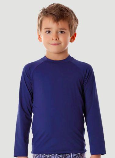 Camiseta UV 50 Acqua Magic UV LINE Marinho