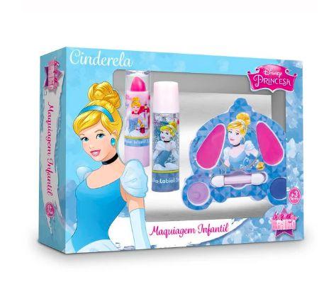 Kit Maquiagem Infantil Cinderela