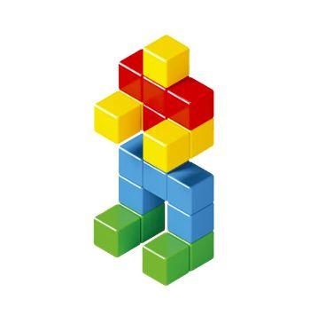 Cubos Magnéticos Magforma Cubos - 22 peças