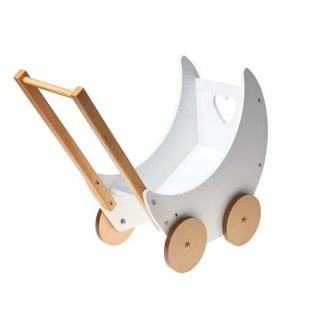 Carrinho de Boneca Branco BupBaby