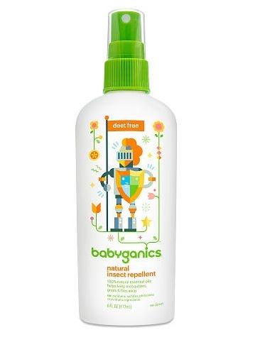 Repelente Natural Babyganics Spray 177ml