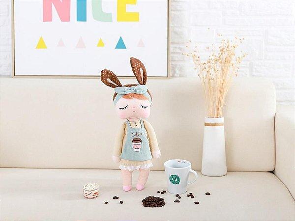 Boneca Angela Chocolate Coffee - Lançamento