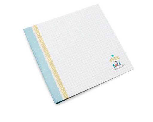 Álbum do Bebê Azul - Coloré
