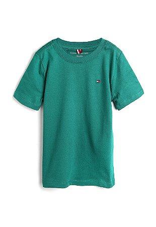 Camiseta algodão Verde Tommy Hilfiger