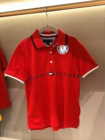Polo vermelha Mini Me Style - Tommy Hilfiger