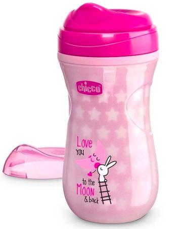 Copo brilha no escuro Shiny Cup Rosa - Chicco