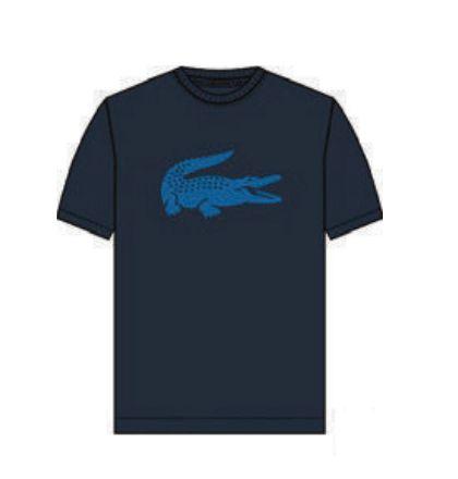 Camiseta Infantil Azul Marinho - Lacoste