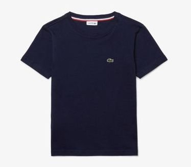 Camiseta Infantil Azul Escuro - Lacoste