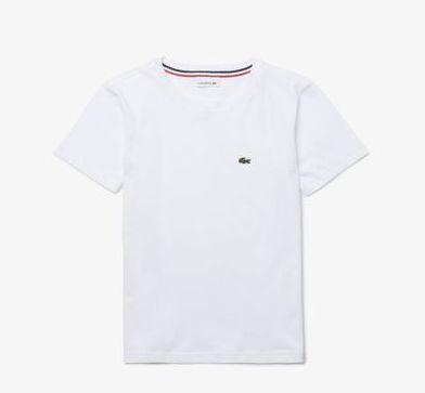 Camiseta Infantil Branca - Lacoste