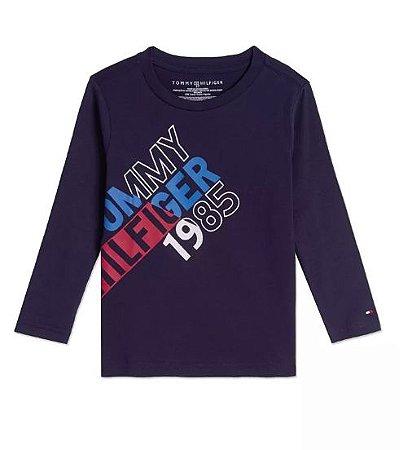 Camiseta manga longa 1985 - Tommy Hilfiger