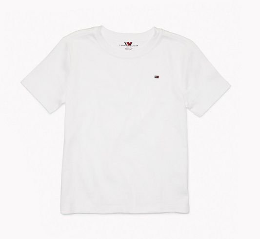 Camiseta algodão branco - Tommy Hilfiger