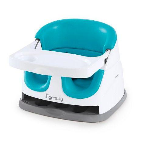 Cadeira de Alimentação 2-em-1 Azul - Ingenuity