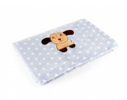 Manta Azul Cachorro - Baby Pil