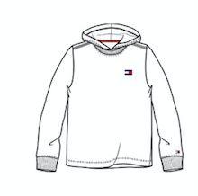Blusa manga comprida branca - Tommy Hilfiger