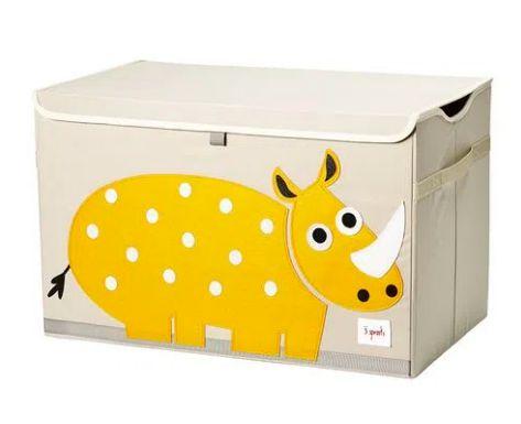 Organizador retangular com tampa Rhino - 3 Sprouts