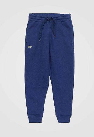 Calça moletom Jogger Azul - Lacoste
