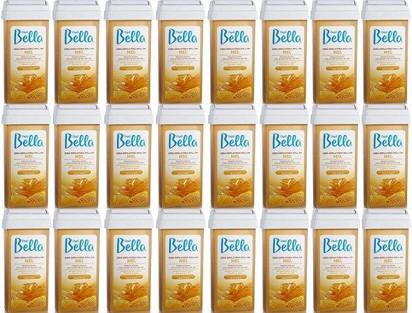 Refil Cera Depilatória Roll-on Mel 100g Depil Bella 24 Unidades