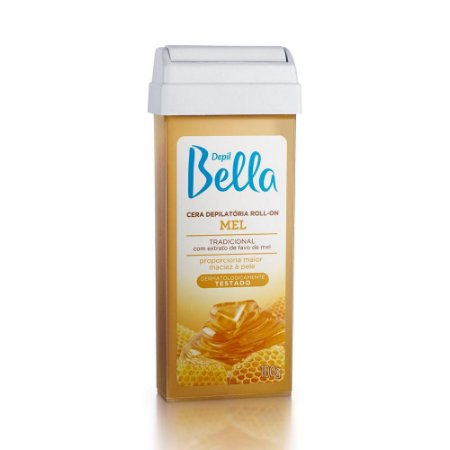 Depil Bella Refil Cera Depilatória Roll-on Mel 100g