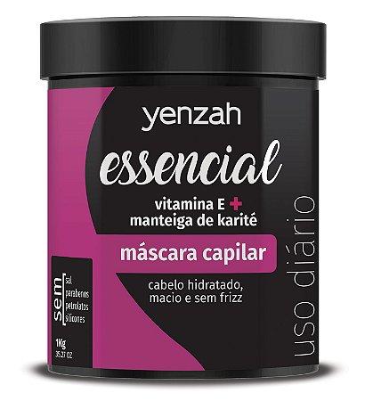 Yenzah Essencial Máscara de Hidratação 1kg
