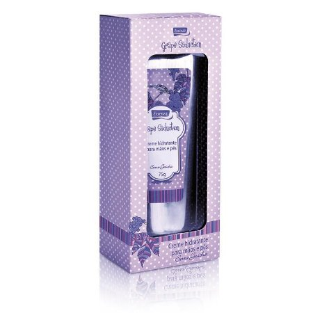 Empório Essenza Creme Hidratante para Mãos e Pés Grape Seduction 75g