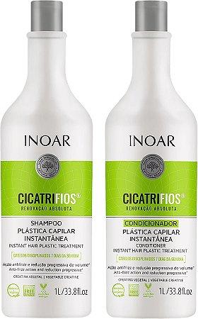 Inoar Kit Cicatrifios Shampoo e Condicionador 1L