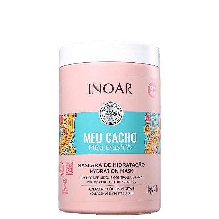 Inoar Meu Cacho Meu Crush Máscara de Hidratação 1kg