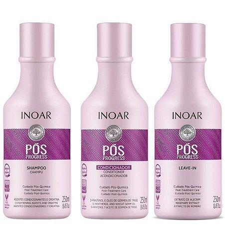 Inoar Pós Progress Kit (3 Produtos)