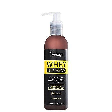 Yenzah Whey Fit Cream Leave-in de Potência Capilar - Leave-in 240ml