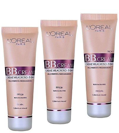 L'Oréal Paris Creme 5 x 1 FPS 20 - BB Cream 30ml