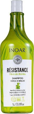 Shampoo Inoar Résistance Fibra de Bambu 1 L
