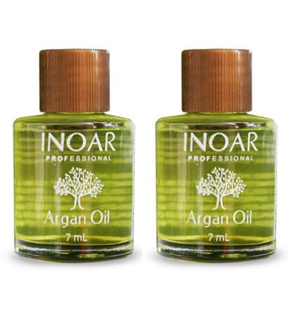 Inoar Argan Oil System Óleo de Argan Sérum 7ml (2 unidades)