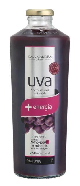 Casa Madeira Suco Nectar de Uva c/ Vit e Min + Energia (1L)