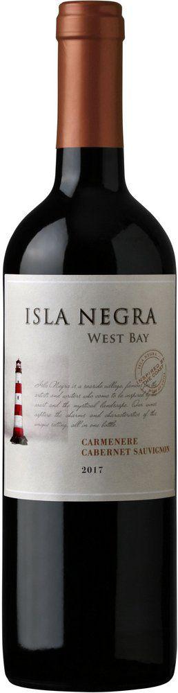 Isla Negra West Bay  Carmenere / Cabernet Sauvignon  (750ml)