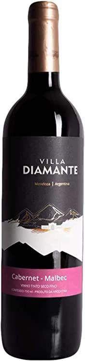 Villa Diamante  Bivarietal Cabernet / Malbec (750ml)