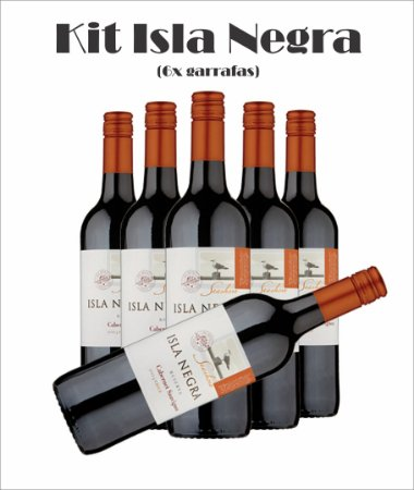 Combo Isla Negra (Opções das Uvas, Vide Descrição)