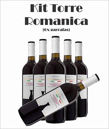 Combo (6x Torre Românica) (Opções das uvas, Vide Descrição)