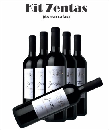 Combo (6x Zentas) (Opções das uvas, Vide Descrição)