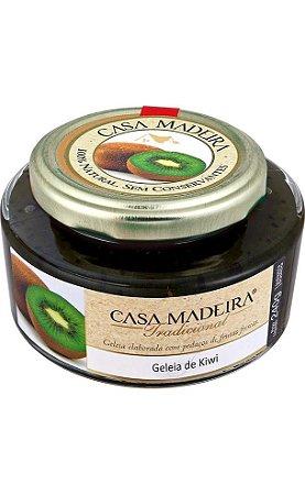 Casa Madeira Geleia Tradicional de Kiwi com pedaços (240g)
