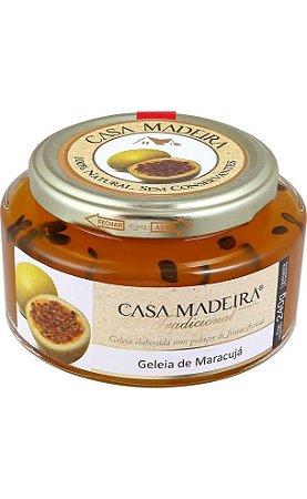 Casa Madeira Geleia Tradicional de Maracujá com sementes (240g)